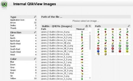 Screenshot der kleine Hilfe-Applikation zum Suchen von internen Grafiken