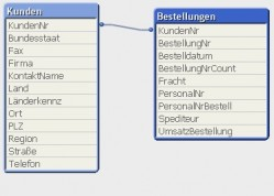 Datenstruktur der Demo-Applikation