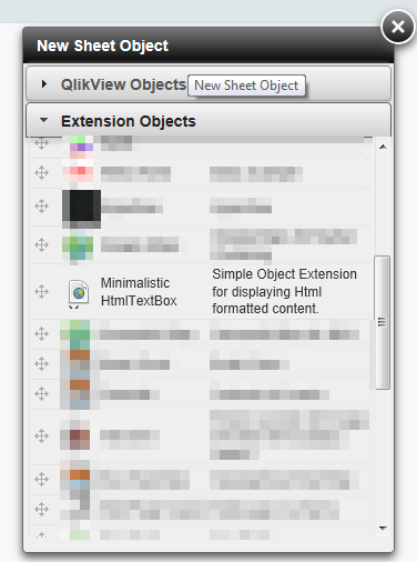 QlikTip #39: Displaying Html content within QlikView (Minimalistic