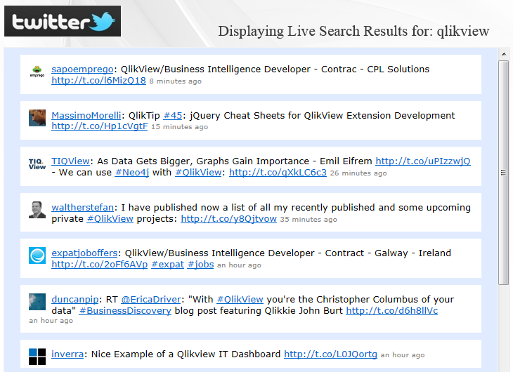 A Comprehensive List of QlikView Object Extensions (01/2013)